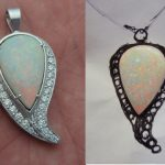 before-after-design-warren-schul-white-opal-diamond-custom-necklace