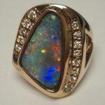 custom-black-opal-ring-yellow-gold-diamonds-australia-lightning-ridge-solid-opal-red-multicolored