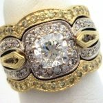 custom-yellow-diamond-sedding-set-cushion-diamond-halo