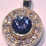 sapphire-diamond-halo-necklace