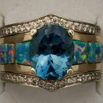 custom-opal-inlay-moissanite-blue-topaz-tonja-diamonds-yellow-gold-cad-cam