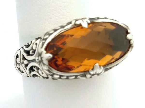 2652 Bali Citrine Ring