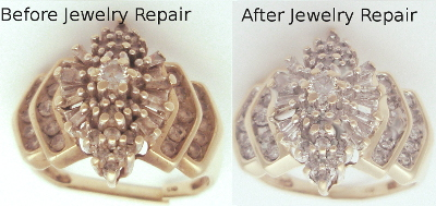 Hamar Before After Jewelry Yellow Gold Ring Repairs Broken Shank